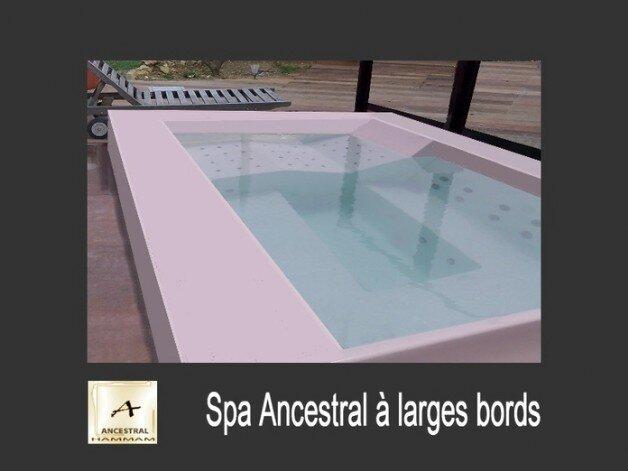 ancestral spa sp cialiste du spa d bordement. Black Bedroom Furniture Sets. Home Design Ideas