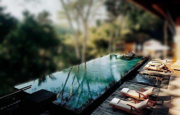 Ancestral spa sp cialiste du spa d bordement - Spa de nage exterieur ...